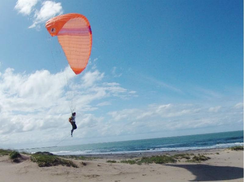 サラリーマンの私が憧れの空中散歩!パラグライダー半日体験フライト